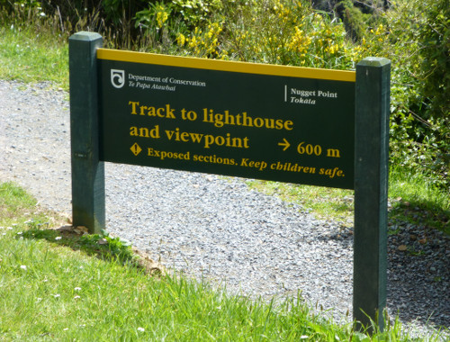 Nugget Point-Südinsel-Ostküste Neuseeland 1