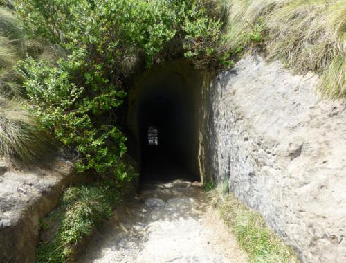 Der Tunnel am Tunnel Beach 2
