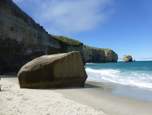 Tunnel Beach, unten am Strand 4