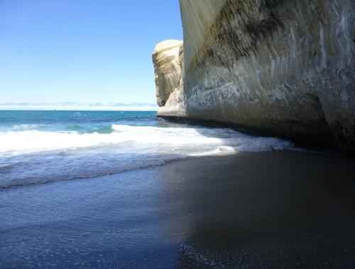 Tunnel Beach, unten am Strand 6
