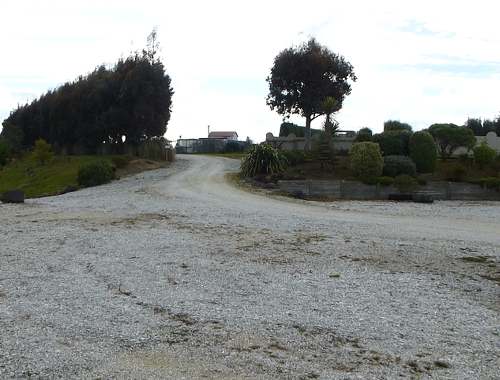 Lignite-Pit Scenic Stop, Parkplatz- Campingplatz