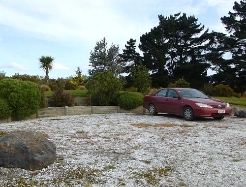 Lignite-Pit Scenic Stop- Parkplatz- Campingplatz