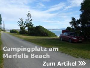Marfells Beach, DOC Campingplatz