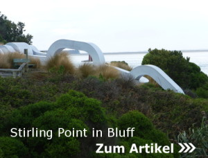 Neuseeland, Stirling Point und Bluff
