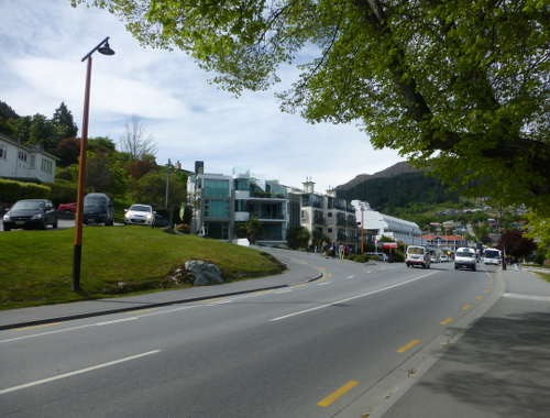 Queenstown, an der Lake Esplanade