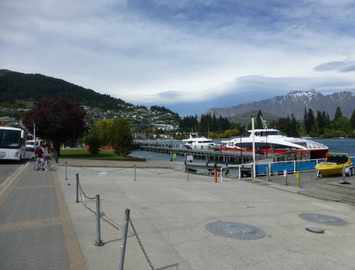Hafen von Queenstown am Lake Wakatipu 1