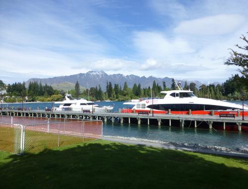 Hafen von Queenstown am Lake Wakatipu 3