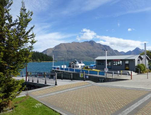 Hafen von Queenstown am Lake Wakatipu 4