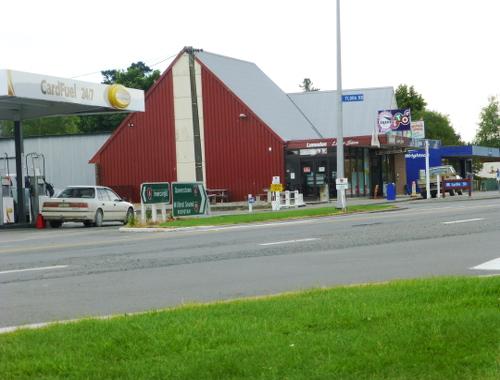 In Lumsden Zwischen Invercargill u. Queenstown