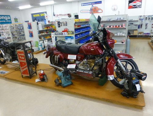 Werkzeugladen Invercargill, Oldtimerausstellung 16