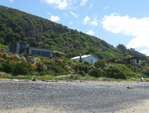 Der Urlaubsort Gore Bay, NZ, 4