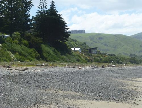 Der Urlaubsort Gore Bay, NZ, 5