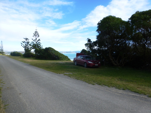 Marfells Beach NZ, am Campingplatz 6
