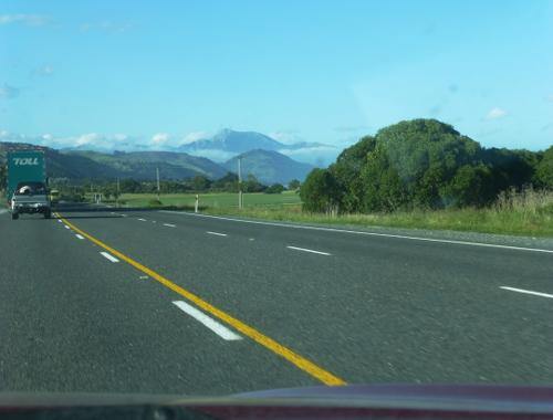 auf dem Weg nach Kaikoura, Neuseeland