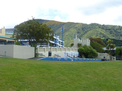 Parkanlage am Hafen in Picton 5