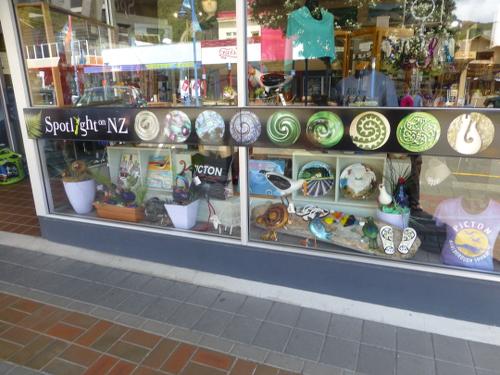 Picton, Neuseeland, Souvenirshop 1