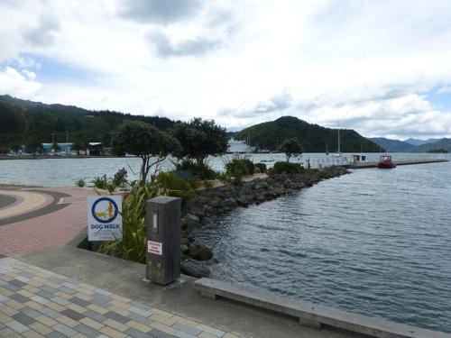 am Hafen in Picton