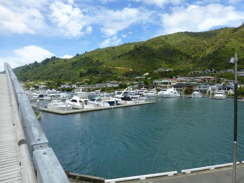 am Yachthafen in Picton Neuseeland 2