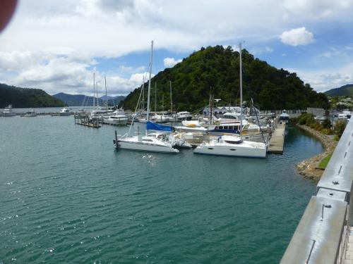 am Yachthafen in Picton Neuseeland 3