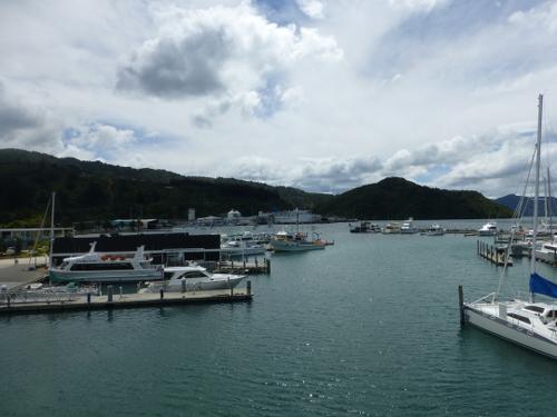 am Yachthafen in Picton Neuseeland 6