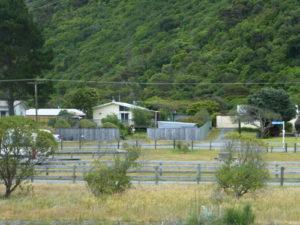 DOC Campingplatz bei Rarangi, Neuseeland