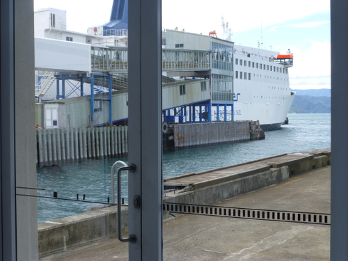 Picton, NZ, im Fährterminal 2