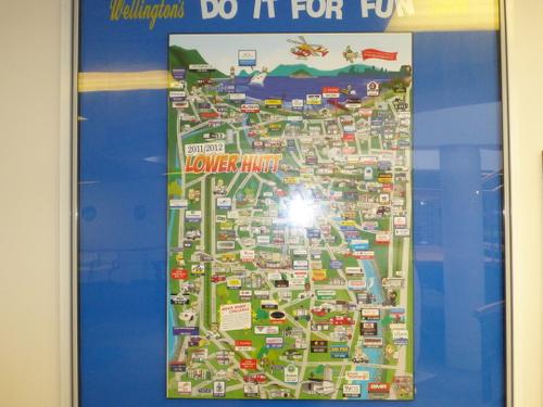 Picton, NZ, im Fährterminal 9