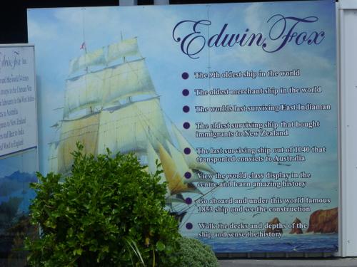 Hafen in Picton, Edwin Fox Maritime Museum