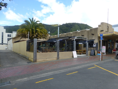 Mikeys Bar und Restaurant in der Highstreet, in Picton NZ