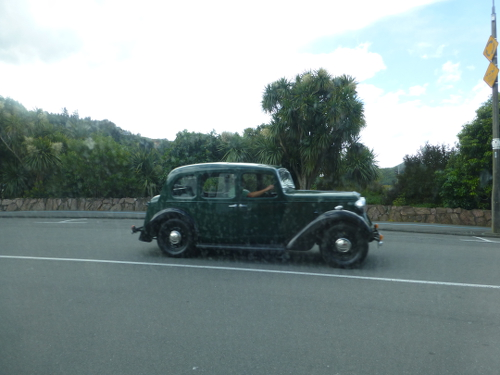 Verkehr, in Picton Neuseeland