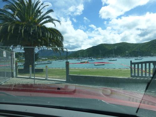 Yachthafen an der Waikawa Bay. Picton 2