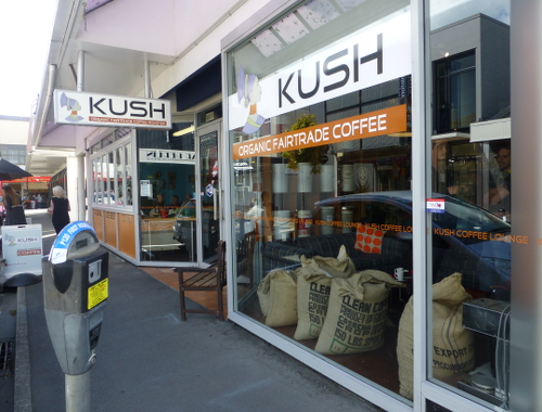 Neuseeland, Nelson, Fairtrade Coffee
