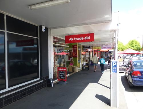 Neuseeland, Nelson, Hardy Street, Fairtrade, Trade Aid 2