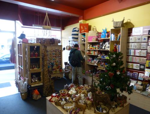 Neuseeland, Nelson, Hardy Street, Fairtrade, Trade Aid Shop 3