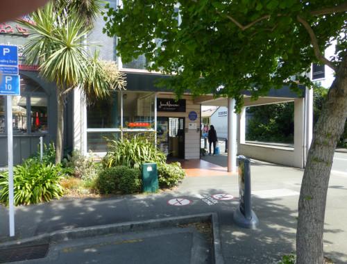 Neuseeland, Nelson, Jens Hansen, The Ringmaker, Trafalgar Square Corner Selwyn Pl.