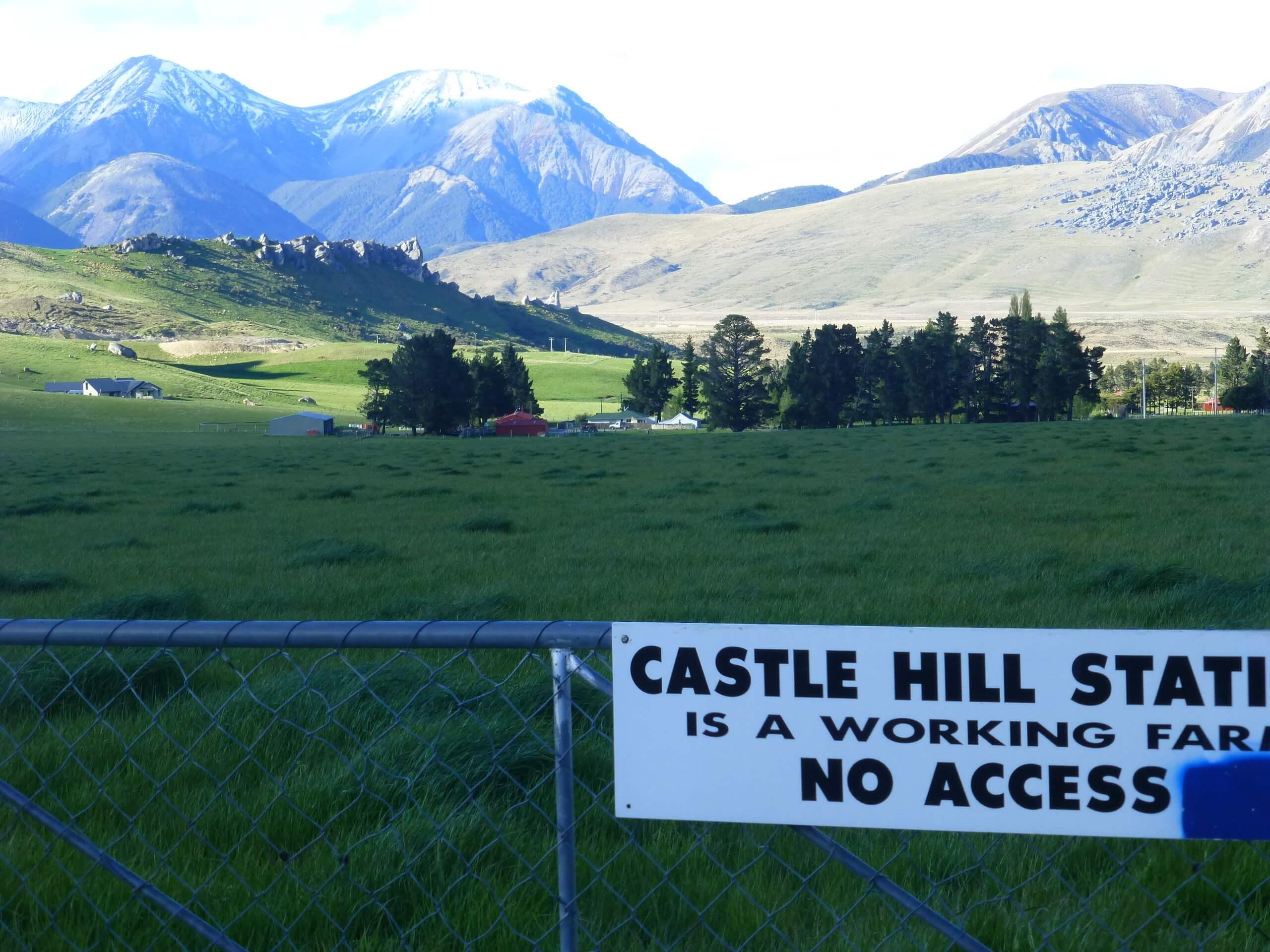 Castle Hill Neuseeland an der S73, Südinsel 10