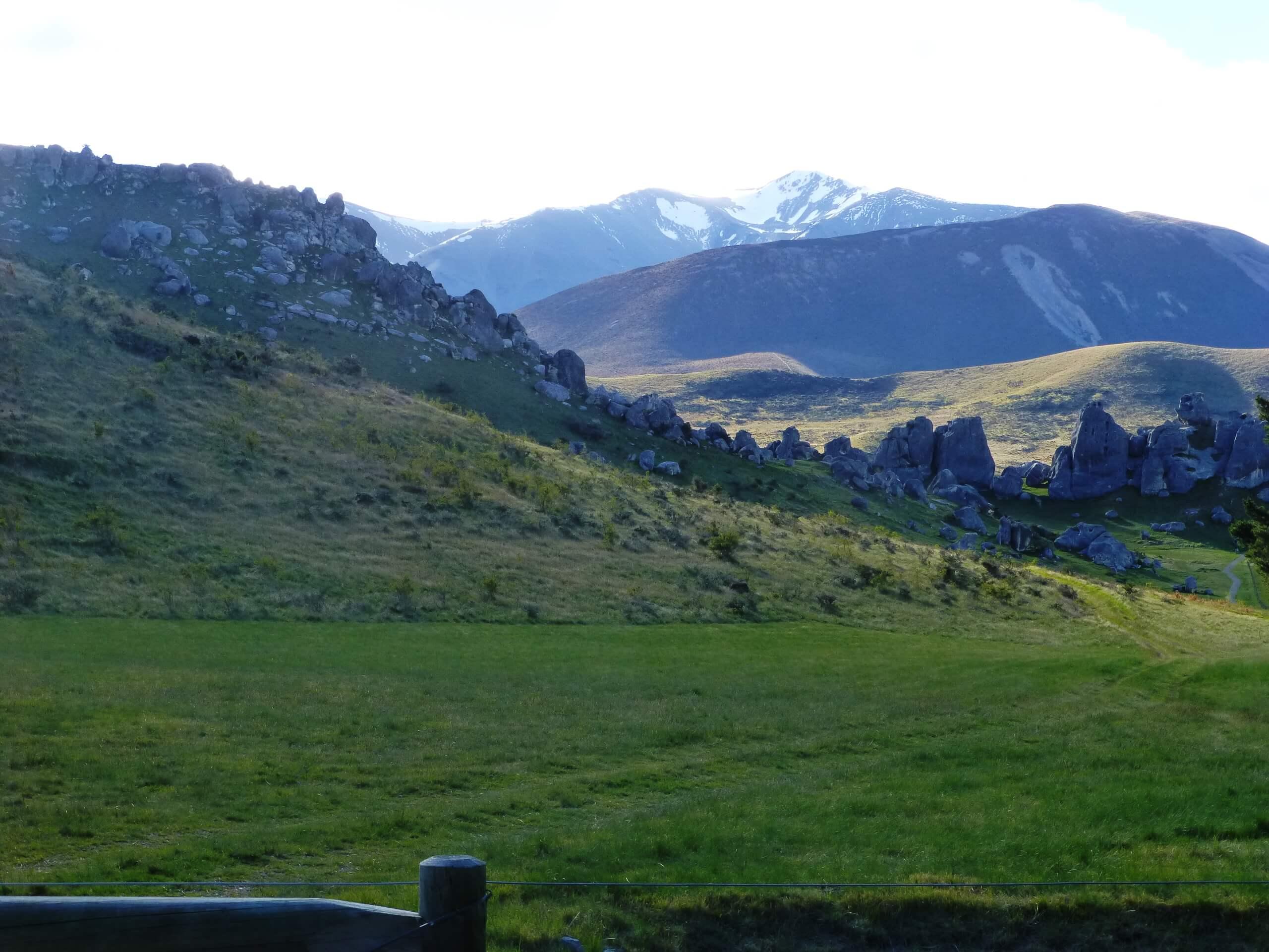 Castle Hill Neuseeland an der S73, Südinsel 2