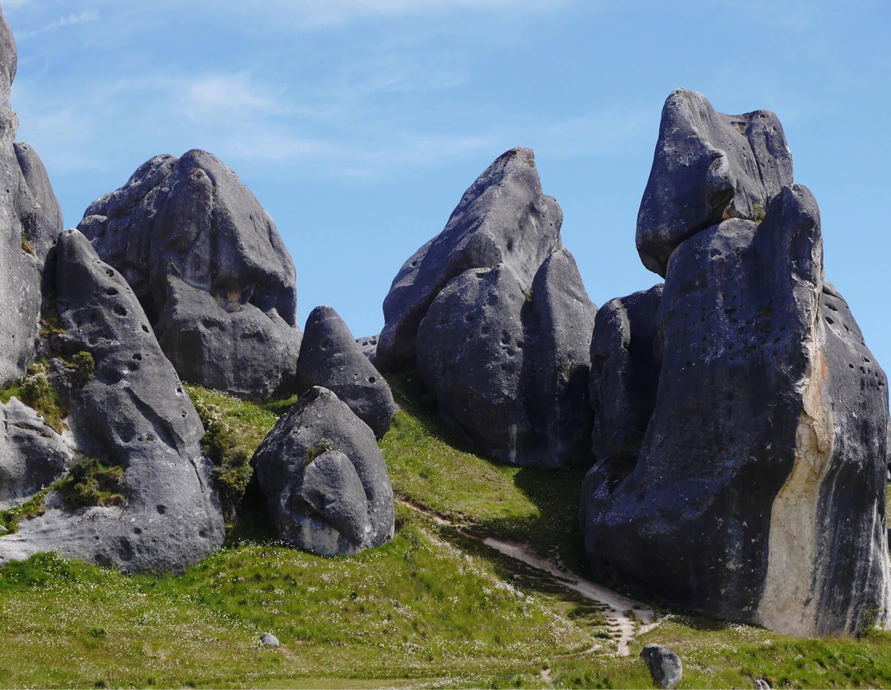 Castle Hill Neuseeland an der S73, Südinsel 4