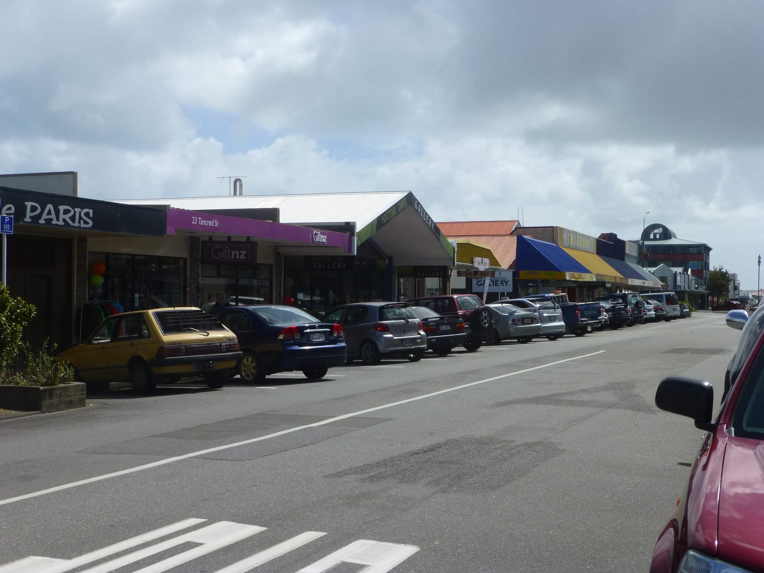 In Hokitika, an der Westküste Neuseeland 4