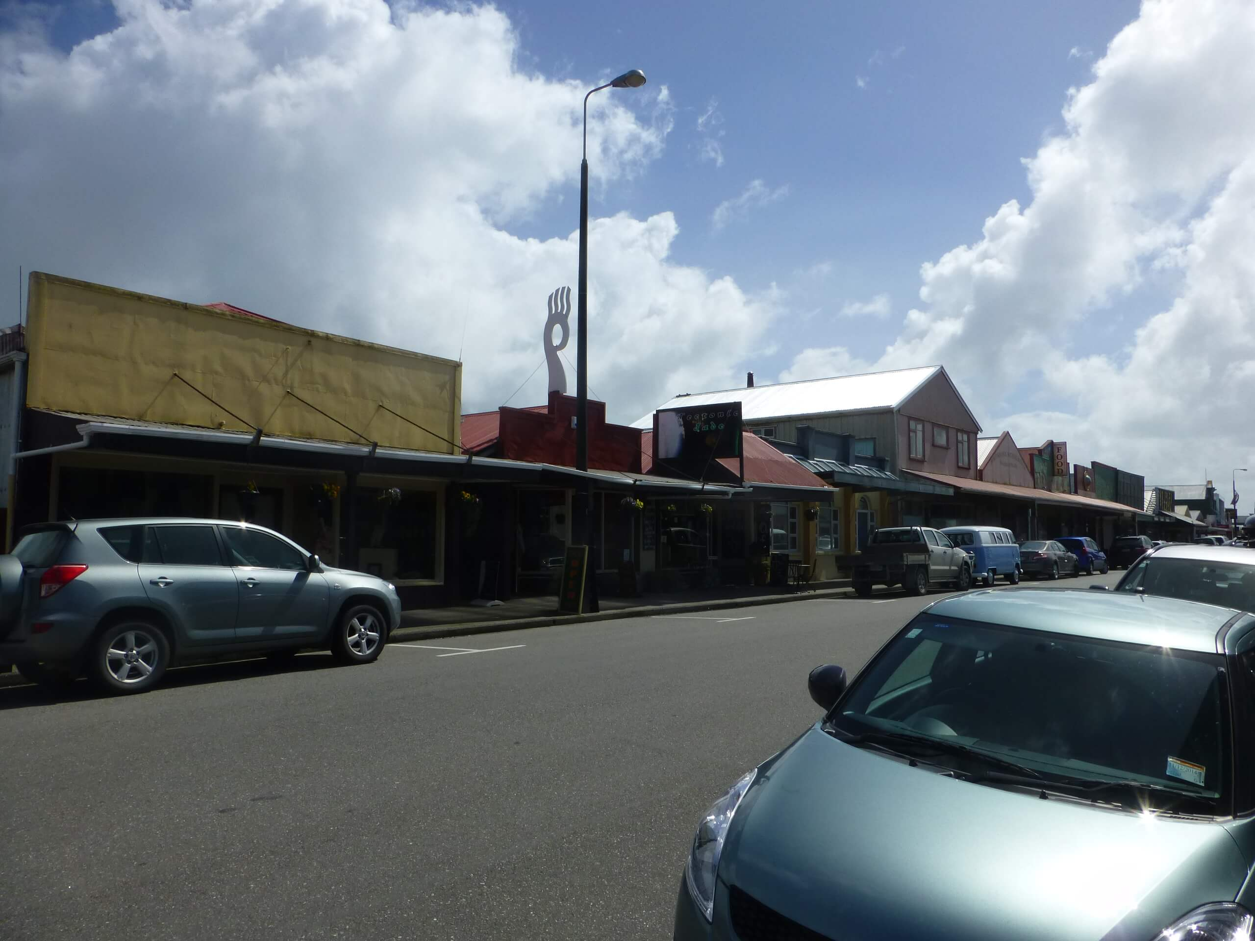In Hokitika, an der Westküste Neuseeland 5