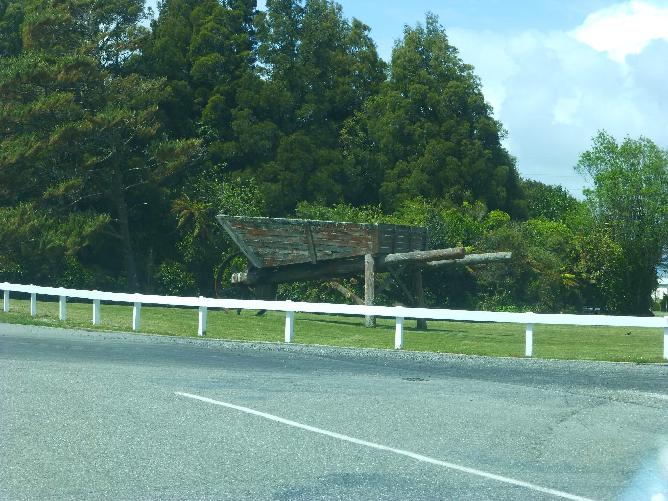 In Hokitika, an der Westküste Neuseeland 7