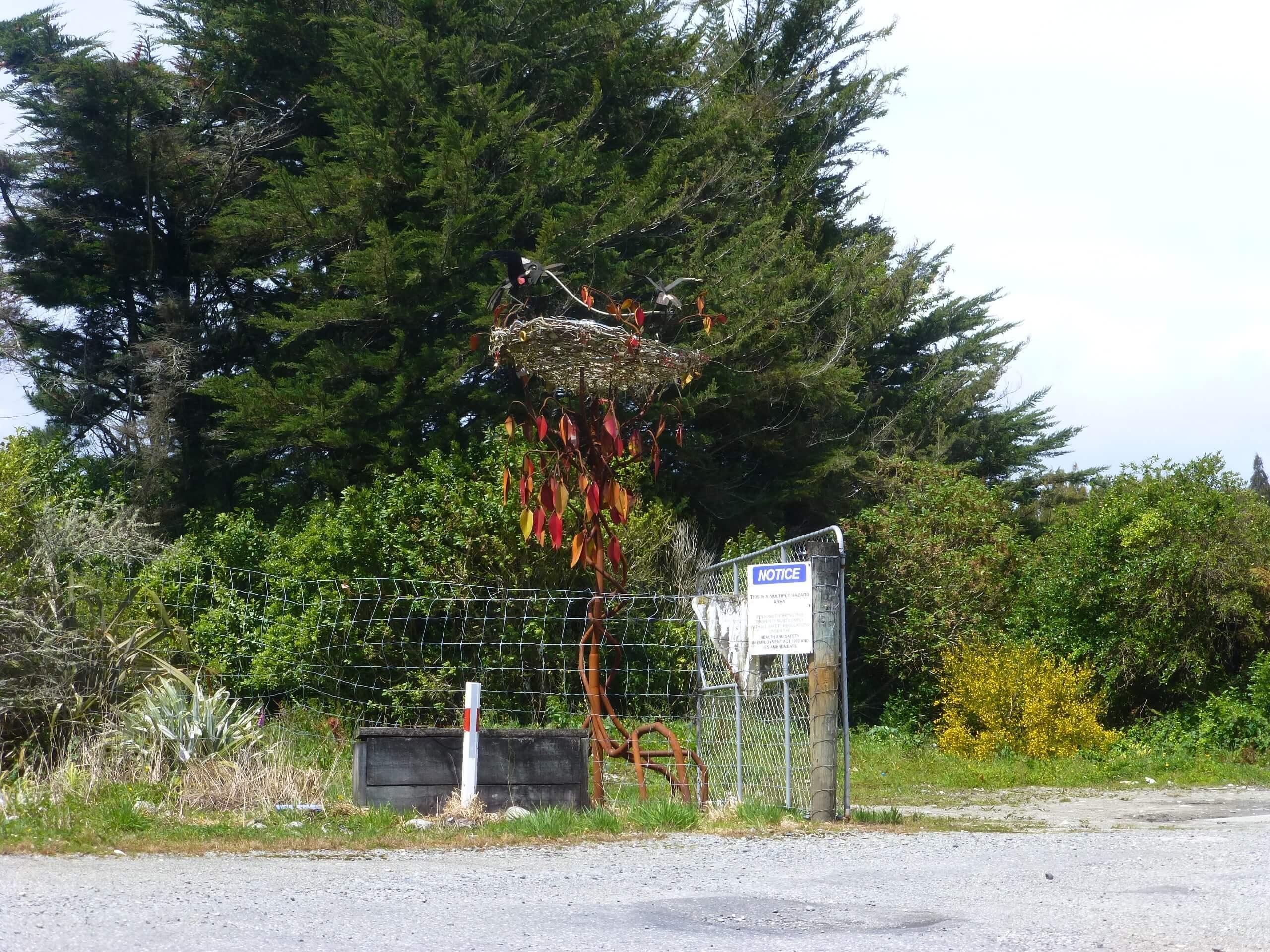 In Hokitika, an der Westküste Neuseeland 8