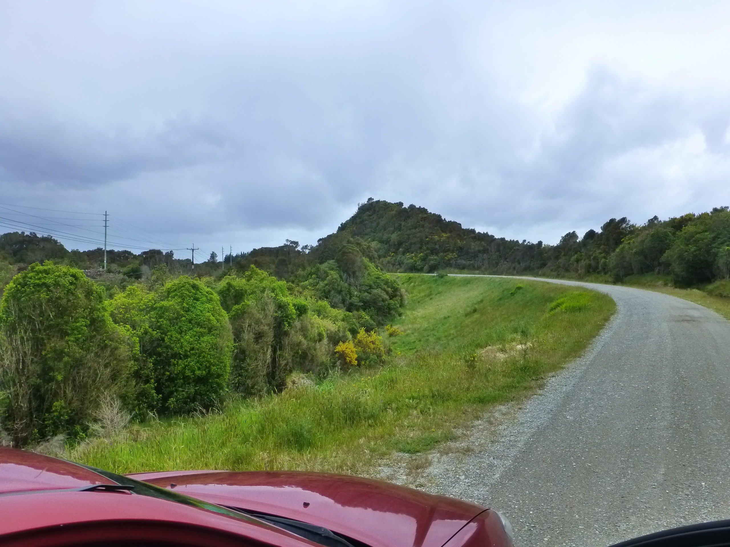 Weg zum Londonderry Rock Neuseeland