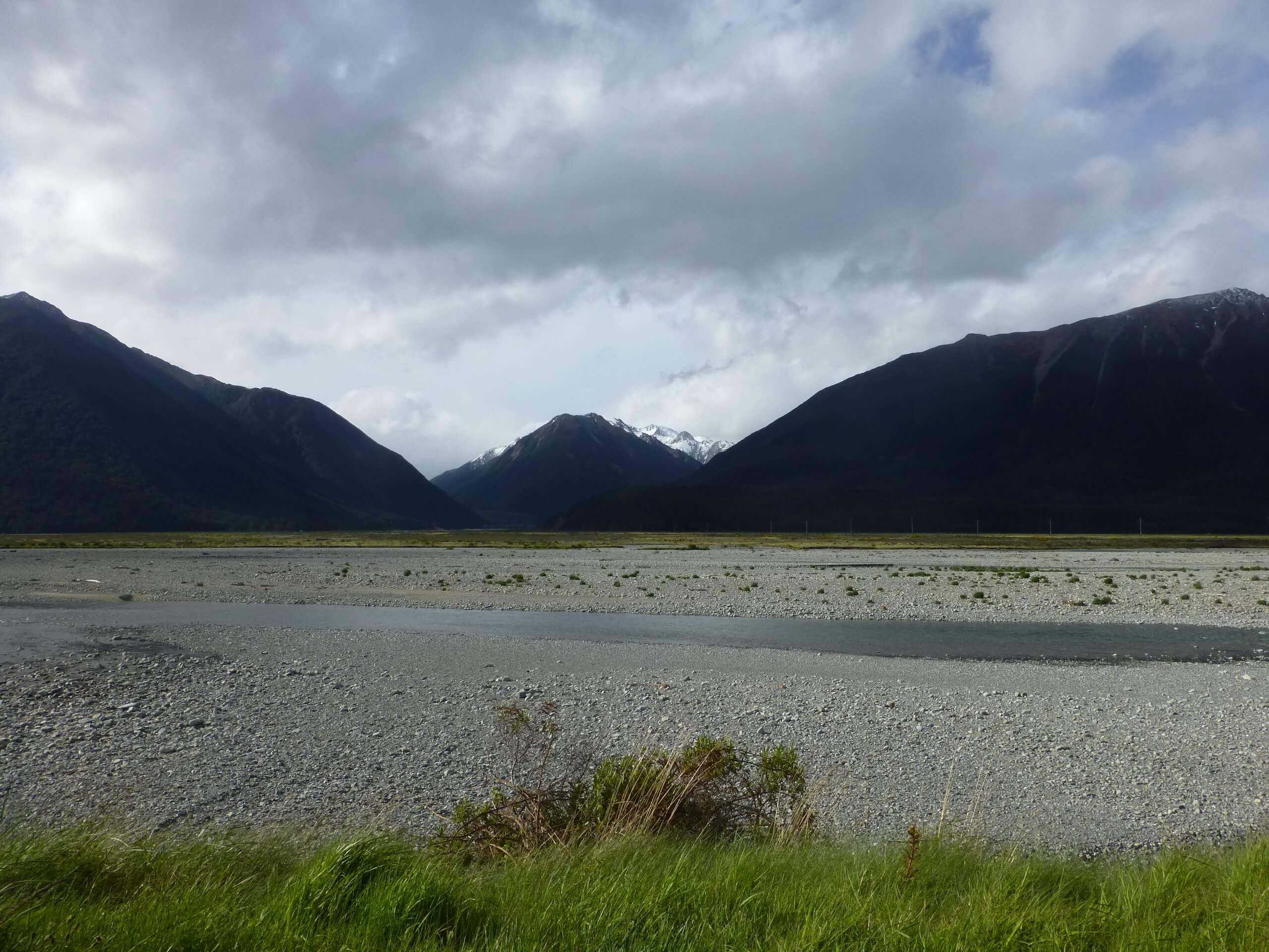 am Waimakariri River, S37 bei Arthurs Pass 8