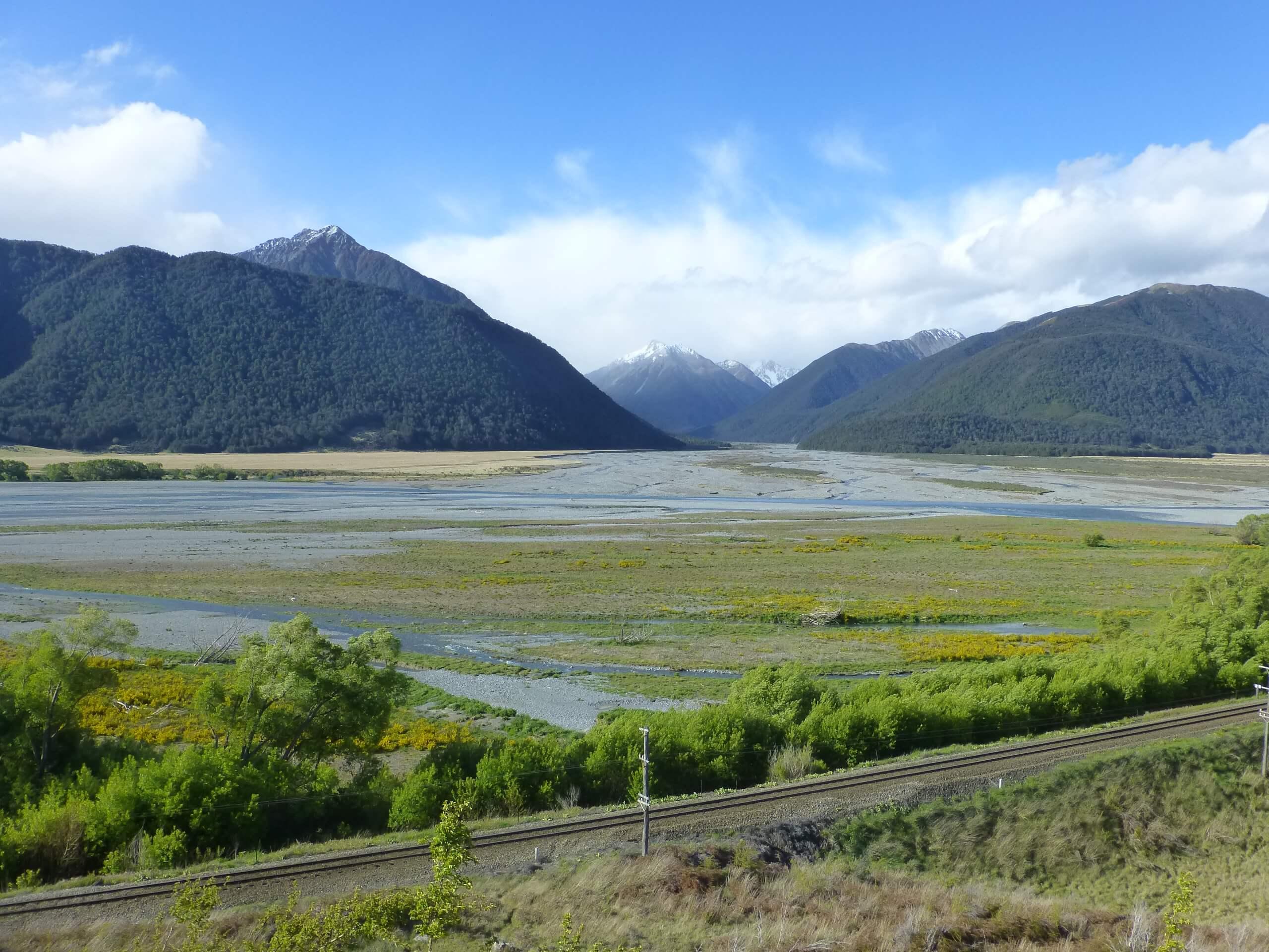 am Waimakariri River, S37 bei Arthurs Pass 2