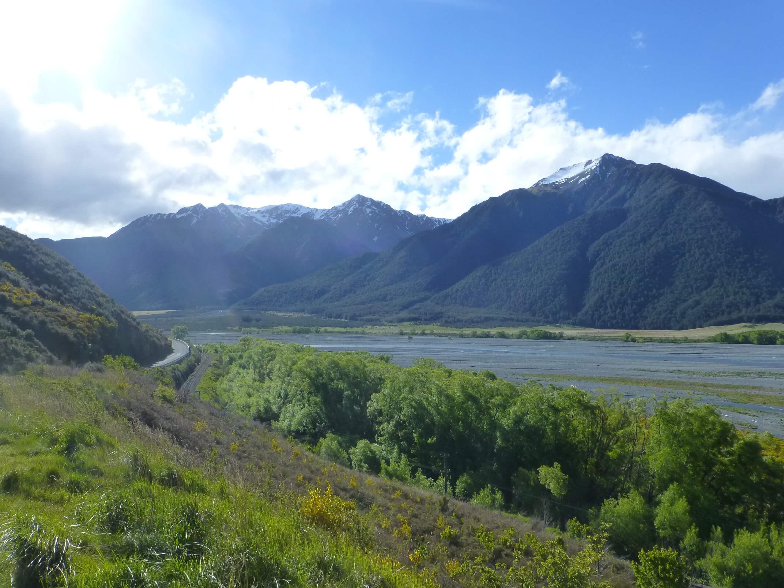 am Waimakariri River, S37 bei Arthurs Pass 1