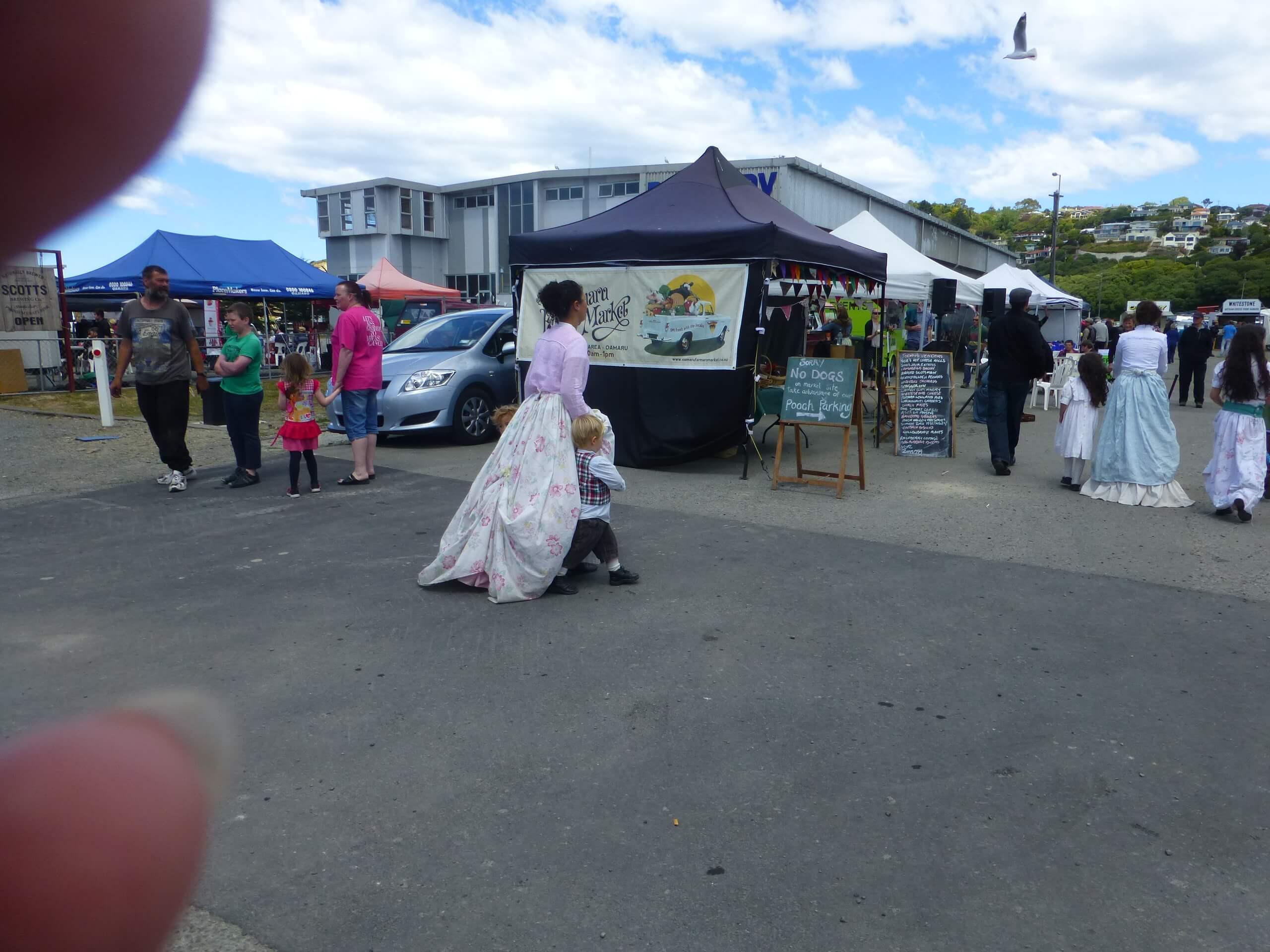 Auf dem Weg zum Viktorian Festival in Oamaru 11