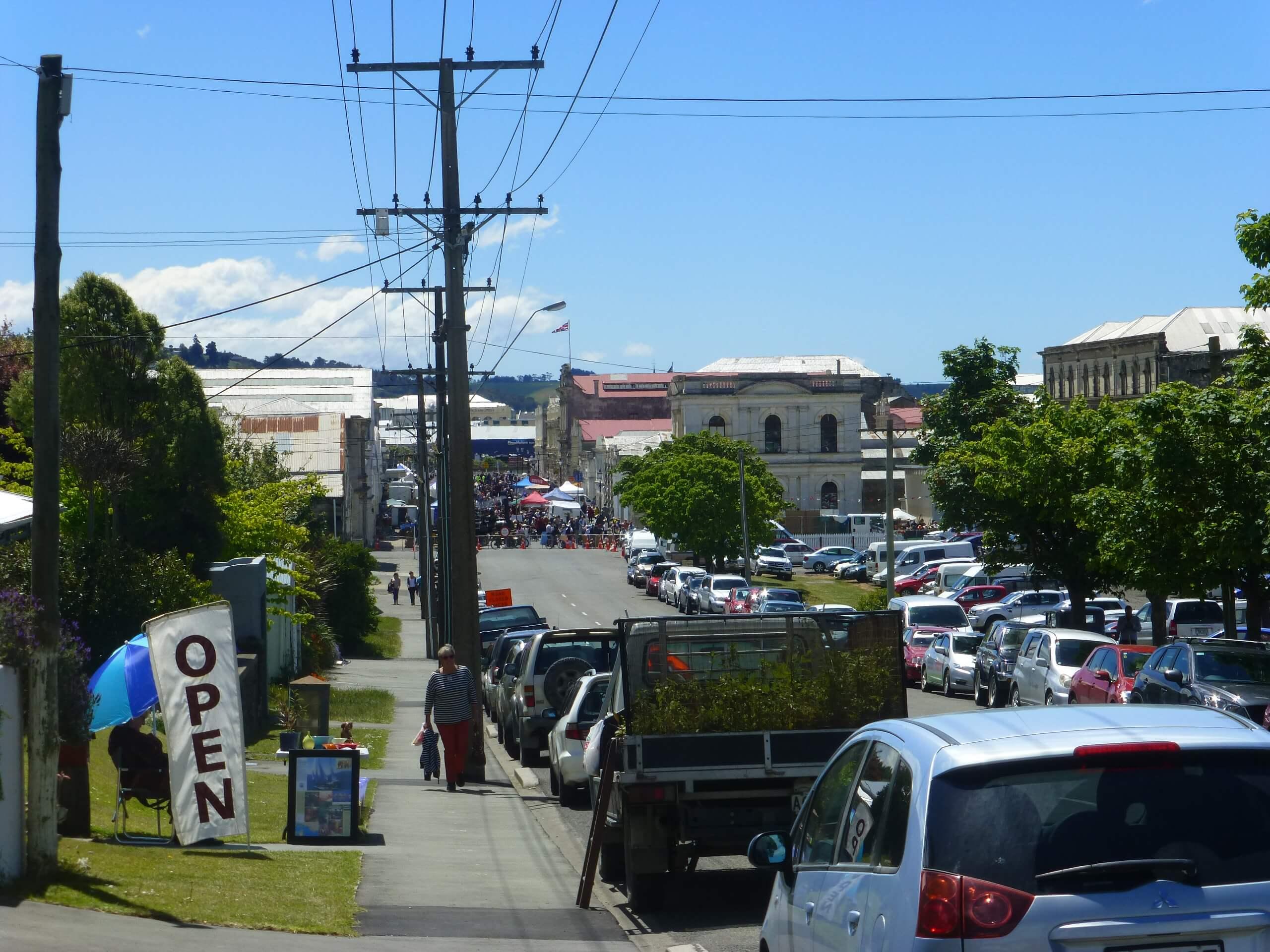 Auf dem Weg zum Viktorian Festival in Oamaru 2