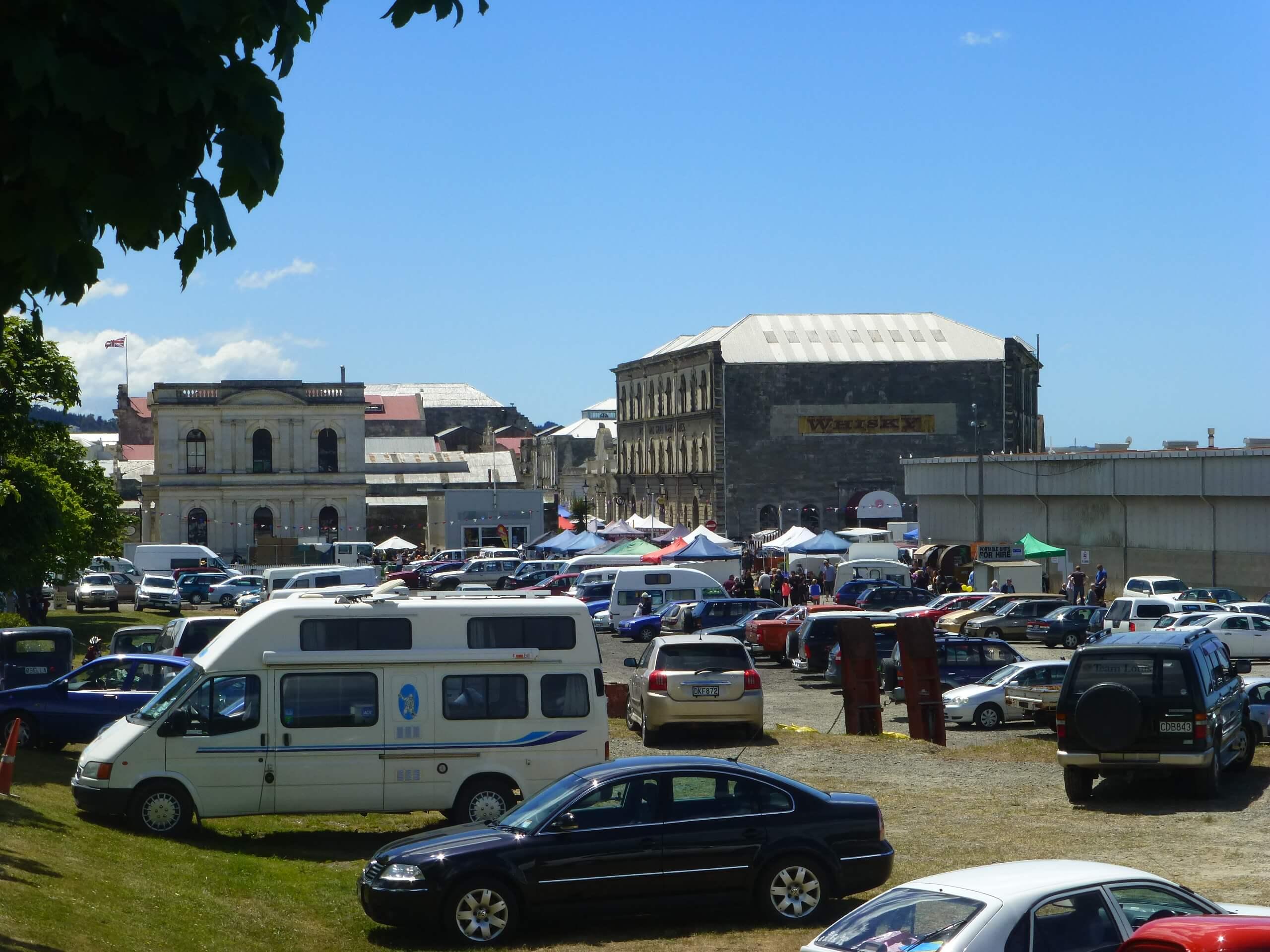 Auf dem Weg zum Viktorian Festival in Oamaru 3