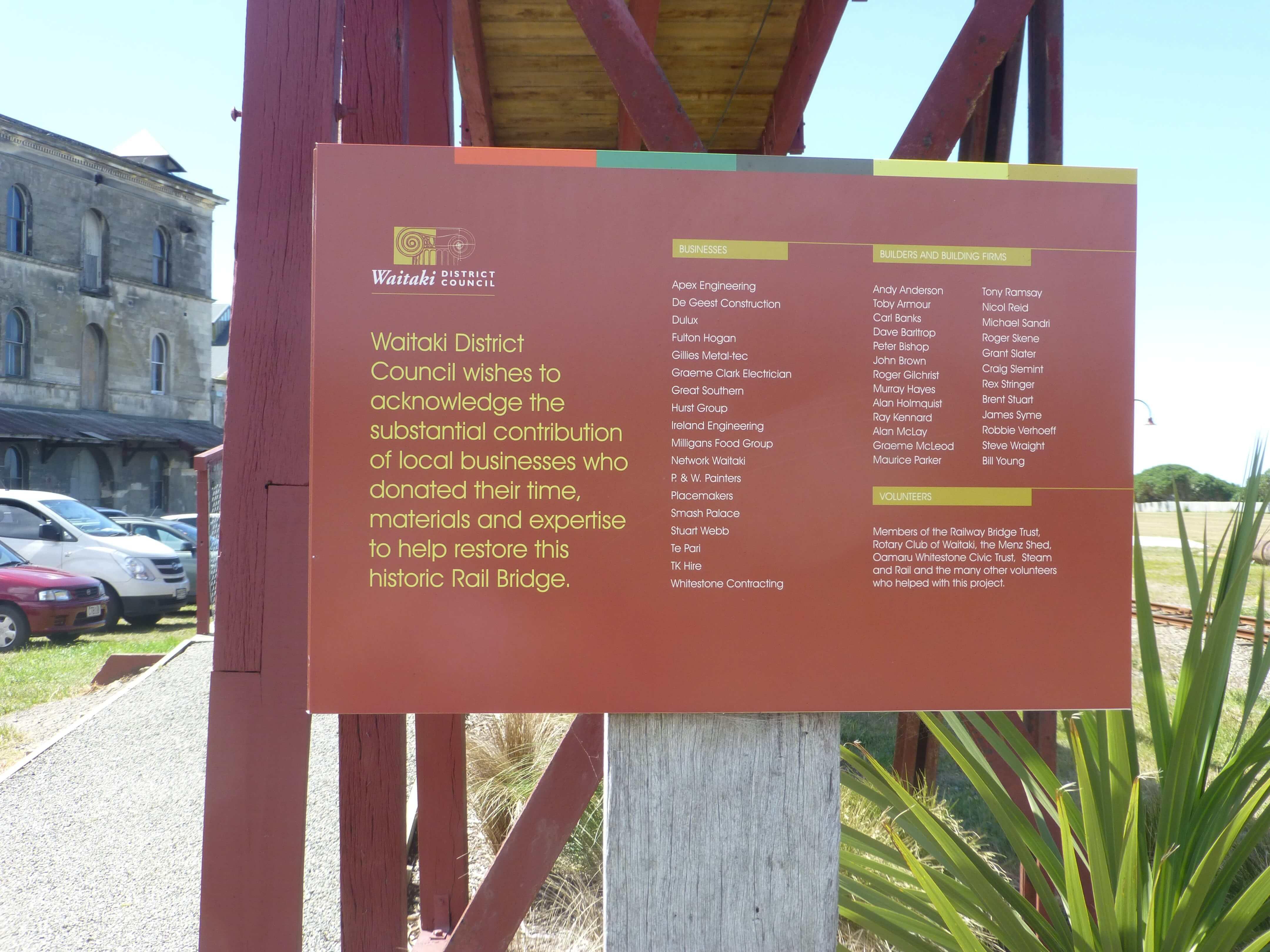 Im Hafen von Oamaru, Neuseeland 10